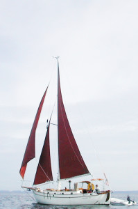Sailing in the sound around 2001
