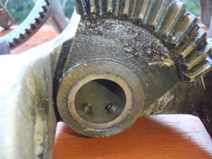 steering vane bronze gear