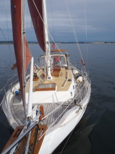 First sail in Semiahmoo Bay in a decade