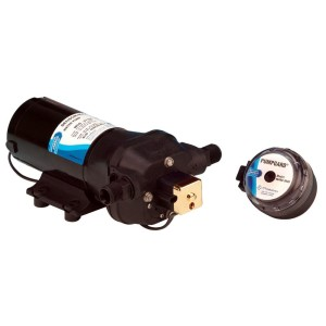 Jabsco Sensor Max   variable speed pump with strainer