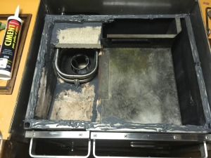 Stove top ready to attach with hybond cement sealer