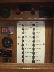 Original Westsail Breaker Panel