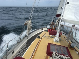 Beating into Admiralty Inlet and the Strait of Juan de Fuca
