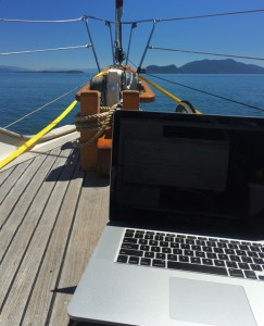 Office at Doe Bay